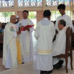 Installation of Fr. Jun Bacit